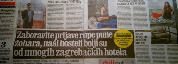 Press clippings: Forget dirty holes filled with cockroaches